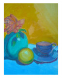 Bright Still-Life Giclee Print by joan Gundersen