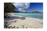 Quiet Beach, Trunk Bay, St John, Usvi Photographic Print by George Oze