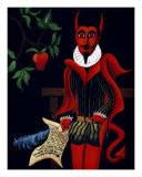 Pact from the Devil Giclee Print by Derek Mckindles