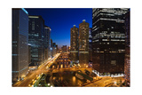Chicago River Bend Photographic Print by Steve Gadomski