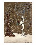 Snow Blossom Giclee Print by Derek Mckindles