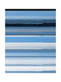 Blue Scapes II Posters by Ricki Mountain