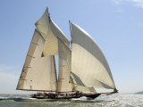 Mariette under Sail, Solent Race, British Classic Yacht Club Regatta, Cowes Classic Week, 2008 Photographie par Rick Tomlinson