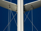 "Close Up of Sy ""Adele""'s Mast and Rigging Photographic Print by Rick Tomlinson"