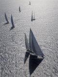 """Sy """"Adele"""", 180 Foot Hoek Design, at the Superyacht Cup Palma, October 2005 Fotografisk trykk av Rick Tomlinson"""