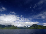 View of a Volcanic Island in French Polynesia, 2006 Photographic Print by Rick Tomlinson