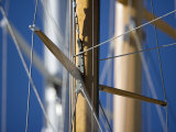 Three Classic Yacht Masts with Spreaders at Panerai Classics, Sardinia, September 2007 Photographic Print by Richard Langdon