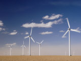 Wind Turbines for Generating Electricity, Two Buttes, Colorado, Usa, February 2006 Posters by Rolf Nussbaumer