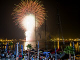 Race Village Opening Ceremony in Alicante, Spain, for the 10th Volvo Ocean Race 2008-2009 Lámina fotográfica por Rick Tomlinson