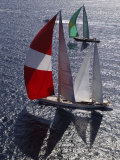 "Sy ""Adele"", 180 Foot Hoek Design, at the Superyacht Cup Palma, October 2005 Photographic Print by Rick Tomlinson"