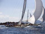 Havsornen Sailing at the Panerai Classics, Sardinia, September 2007 Fotografisk trykk av Richard Langdon