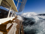 "Sy ""Adele"", 180 Foot Hoek Design, Sailing Near South Georgia, February 2007 Photographic Print by Rick Tomlinson"