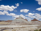 The Teepes Cones, Painted Desert and Petrified Forest Np, Arizona, USA, May 2007 Photographic Print by Philippe Clement