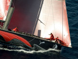 Puma During In-Port Race 1, Alicante, Spain. Volvo Ocean Race 2008-2009 Photographic Print by Rick Tomlinson