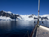 "Sy ""Adele"", 180 Foot Hoek Design, Exploring Wilhelmina Bay, Antarctica, January 2007 Photographic Print by Rick Tomlinson"
