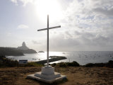 Cross Outside the Chapel of St Peter of the Fishermen, Island of Fernando De Noronha, October 2008 Photographic Print by Rick Tomlinson