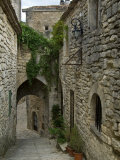 Mediaeval Alley in the Village of Lacoste, Provence, France Photographic Print by Philippe Clement