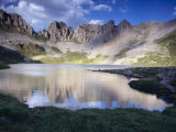 Acherito Lake in the Pyrenees Mountains, Spain Photographic Print by Inaki Relanzon
