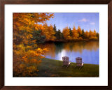 Forever Autumn Poster by Diane Romanello