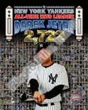 Derek Jeter 2722 Hits Photo