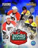 2010 NHL Winter Classic Matchup Photo