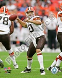 Cleveland Browns Brady Quinn 2009 Action Photo