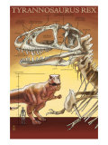 Tyrannosaurus Rex Facts, c.2008 Posters by Lantern Press 