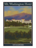 Mt. Washington Hotel, Bretton Woods, Nh, c.2008 Posters by  Lantern Press
