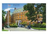 Newport, Rhode Island - Exterior View of the Hotel Viking, c.1935 Print