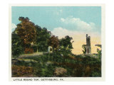 Gettysburg, Pennsylvania - View of Little Round Top, c.1928 Posters by  Lantern Press