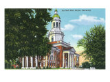 Waco, Texas - Baylor University, Exterior View of the Pat Neff Hall, c.1944 Prints