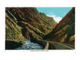 Ogden, Utah - Scenic View in Ogden Canyon, c.1936 Print by  Lantern Press
