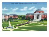 Southern Methodist University, Dallas, Art Print