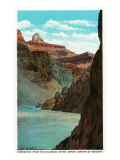 Grand Canyon Nat'l Park, Arizona - View of Zoroaster from the Colorado River, c.1932 Prints