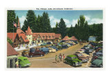 Lake Arrowhead, California - General View of the Village, c.1949 Prints by  Lantern Press
