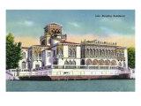 Sarasota, Florida - Exterior View of the John Ringling Mansion, c.1947 Prints by  Lantern Press