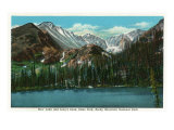 Estes Park, Colorado - View of Bear Lake and Long's Peak, c.1938 Prints by  Lantern Press