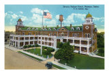 Nampa, Idaho - Exterior View of the Dewey Palace Hotel, c.1926 Posters by  Lantern Press