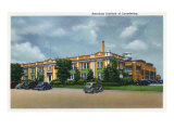 Joliet, Illinois - Exterior View of the American Institute of Laundering, c.1945 Posters by  Lantern Press