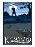 Kings Canyon Nat'l Park - Bigfoot - Lp Poster, c.2009 Prints by  Lantern Press