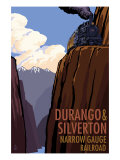 Durango and Silverton Narrow Gauge Railroad, c.2009 Posters by  Lantern Press