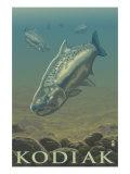 Kodiak, Alaska - King Salmon, c.2009 Posters by  Lantern Press