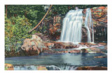 Great Smoky Mts. Nat'l Park, Tn - View of Bridal Veil Falls, c.1940 Prints