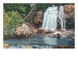 Great Smoky Mts. Nat'l Park, Tn - View of Bridal Veil Falls, c.1940 Prints