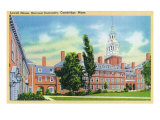 Cambridge, Massachusetts - Harvard University, Exterior View of Lowell House, c.1936 Prints by  Lantern Press