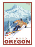 Timberline Lodge - Ski Mt. Hood, Oregon, c.2009 Prints by  Lantern Press