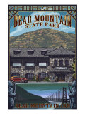 Bear Mountain State Park, New York - Bear Mountain Inn, c.2009 Prints by Lantern Press