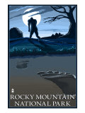 Rocky Mountain National Park, Co - Bigfoot, c.2009 Prints by  Lantern Press
