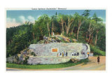 Great Smoky Mts. Nat'l Park, Tn - View of the Laura Spelman Rockefeller Memorial, c.1946 Print