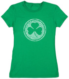 Women's: Irish Clover Camisetas